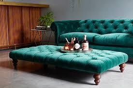 Chesterfield Velvet Sofa Green Velvet Sofa Emerald Golfocd