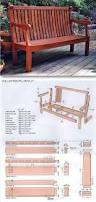 the 25 best garden bench plans ideas on pinterest garden bench