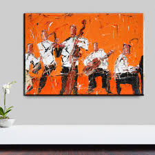 jazz home decor online shop xh2273 rock jazz music home decor wall art painting