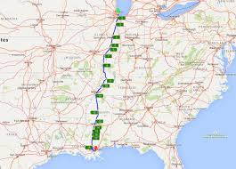 Spirit Route Map by City Of New Orleans Route Atlas U2013 Nanovor