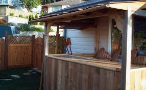 How To Build A Brick Shed Step By Step by Best Tiki Bar Plans U2013 How To Build A Tiki Bar In The Backyard