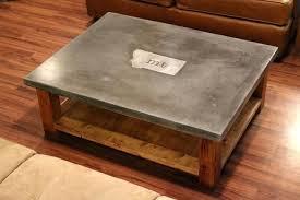 Concrete Coffee Table Concrete Coffee Table Diy Concrete Wood Coffee Table Fieldofscreams