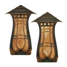 Brown Wall Sconces Wall Art Designs Remarkable Productss Of Arts And Crafts Wall