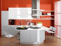 White And Red Kitchen Ideas Kitchen Chairs Creative Kitchen Design Ideas With White