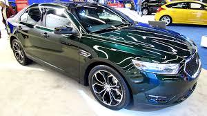 Sho Green 2013 ford taurus sho exterior and interior walkaround 2013