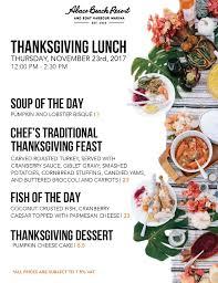 resort thanksgiving