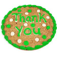 cookie cake delivery thank you cookie cake by gourmetgiftbaskets