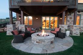 Firepit Seating Appealing Ideas For Outside Firepit Seating Furniture Decor Trend