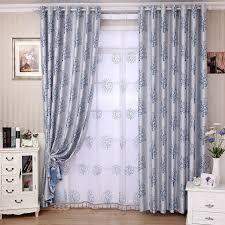 grey livingroom living room curtains in blue with tree patterns buy grey print