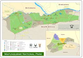 Africa Map Rivers South African National Parks Sanparks Official Website