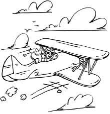 airplane coloring page printable printable airplane coloring sheet for kids boys drawing a plane