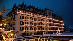 mont cervin palace zermatt in switzerland from carrier