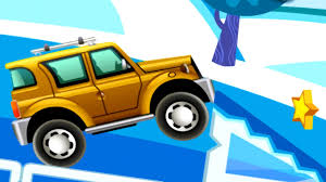 jeep bike kids cartoons and games about cars for kids yellow jeep animated