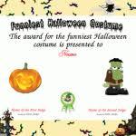 halloween certificate template free imts2010 info