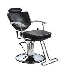 Reclining Makeup Chair All Purpose Hydraulic Recline Barber Chair Shoo