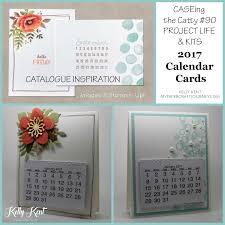 2017 calendar cards kent