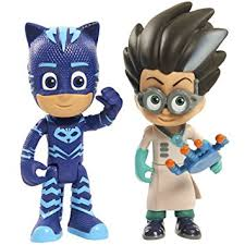 amazon play pj masks figure pack catboy romeo toy
