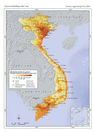 Population Map Of China by Vietnam Population Distribution Wasatch Economics
