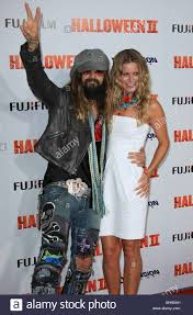 rob zombie sheri moon stock photos u0026 rob zombie sheri moon stock