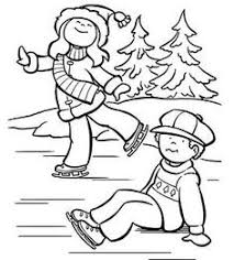 winter coloring pages print winter pictures color