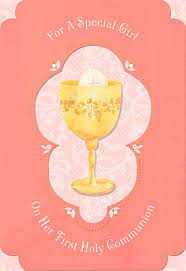 Invitation Card For Holy Communion Blessings For A Special Holy Communion Card Greeting Cards
