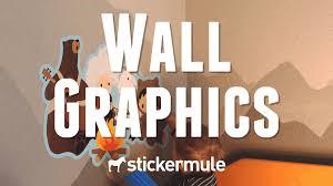 wall graphics free shipping sticker mule