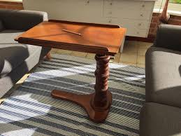 reading table and chair edwardian mahogany tilting height adjustable reading table stand
