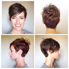 pictures of back pixie hairstyles pixie haircut front and back