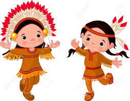 native american dancing clipart clipartxtras