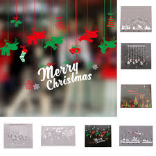 popular window wall murals buy cheap window wall murals lots from stylish waterproof removable glass shop window wall mural stickers decal christmas decor china mainland
