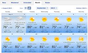 use accuweather s 45 day forecast to plan for labor day fall events