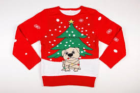 Ugly Christmas Sweater With Lights Ugly Christmas Sweater Dog Tangled With Christmas Lights