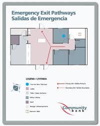 fire evacuation floor plan evacuation plan signs evacuation route signs
