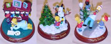 3 new bradford ornaments simpsons
