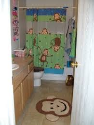 Target Kids Shower Curtain Purchase The Monkey Shower Curtain For Less At Walmart Com Save