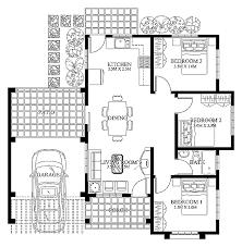 modern house blueprints small modern house plans cottage house plans