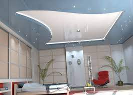 modern ceiling designs with decorative stretch ceiling