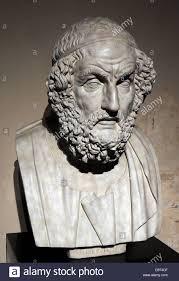 Blind Prophet In The Odyssey Homer Blind Greek Poet Stock Photos U0026 Homer Blind Greek Poet Stock