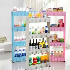 Pink Bathroom Storage 4 Layers Diy Removable Creative Bathroom Kitchen Storage Shelves