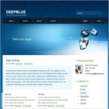 red light center download deep blue template free website templates in css html js format