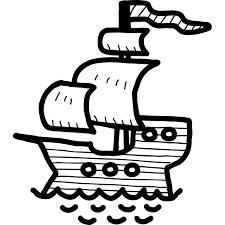 cartoon pirate ship kids wall sticker world of wall stickers