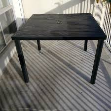 Richmond Patio Furniture Find More Threshold Afton Metal Patio Table For Sale At Up To 90