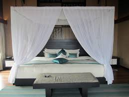 Canopy Curtains Lovable Canopy Bed Curtains For Full Size With King Bed Tikspor