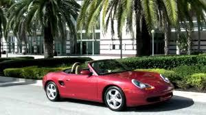 Porsche Boxster 2001 - 2001 porsche boxster orient red metallic community auto sales palm