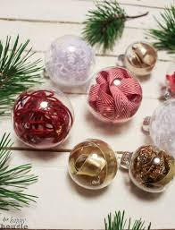 clear christmas ornaments 10 ways to fill a clear glass christmas ornament