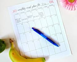 menu planners templates printable meal planning templates to simplify your