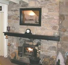 slate stone veneer fireplace stunning over drywall installing