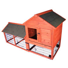 Rabbit Hutch With Run For Sale Amazon Com Trixie Pet Products Rabbit Hutch With Outdoor Run And