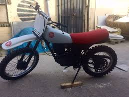 yamaha xt 250 1983 y reg white and red classic enduro in