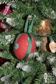 felted wool ribbon ornament balls wee folk